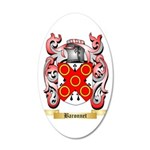 Baronnet 35x21 Oval Wall Decal