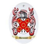 Baronnet Ornament (Oval)