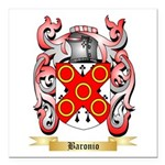 Baronio Square Car Magnet 3