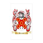 Barone Sticker (Rectangle 50 pk)
