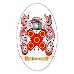 Barone Sticker (Oval 50 pk)