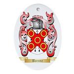 Barone Ornament (Oval)