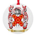 Baroncini Round Ornament