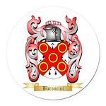 Baroncini Round Car Magnet