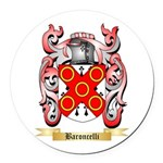 Baroncelli Round Car Magnet