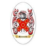 Baroncelli Sticker (Oval 50 pk)