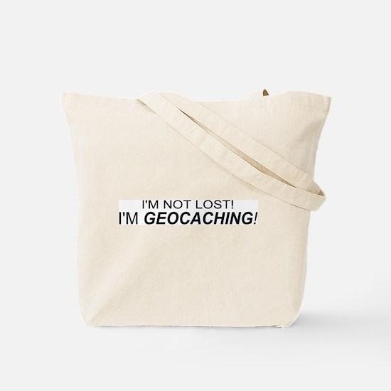Cool Geocaching Tote Bag