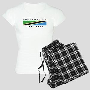 Property Of Tanzania Women's Light Pajamas