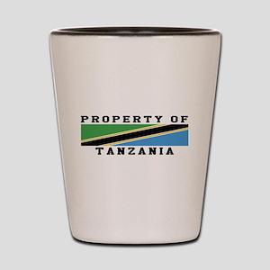 Property Of Tanzania Shot Glass