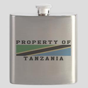 Property Of Tanzania Flask