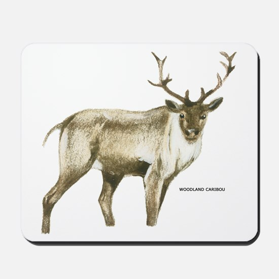 Woodland Caribou Animal Mousepad