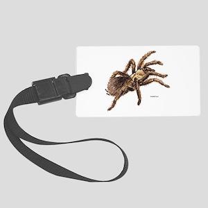 Tarantula Spider Large Luggage Tag