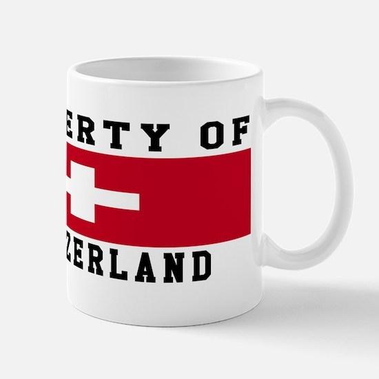 Property Of Switzerland Mug
