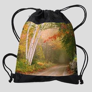 Cilley Hill Road Drawstring Bag