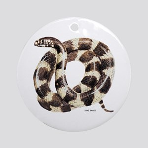 King Snake Ornament (Round)
