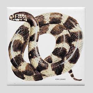 King Snake Tile Coaster