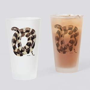 King Snake Drinking Glass