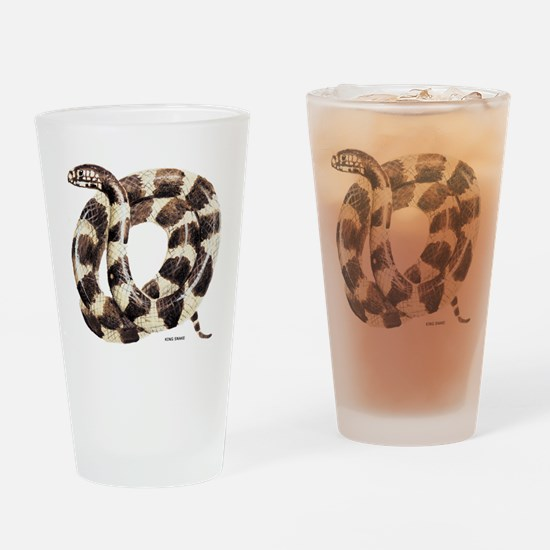 King Snake Drinking Glass