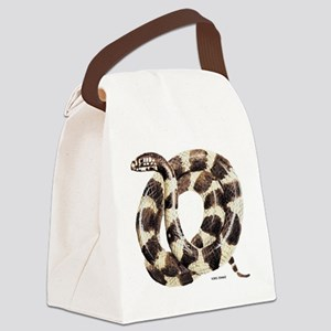 King Snake Canvas Lunch Bag