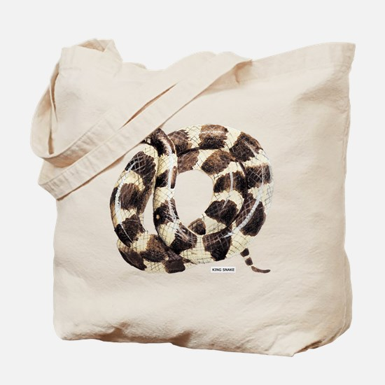 King Snake Tote Bag