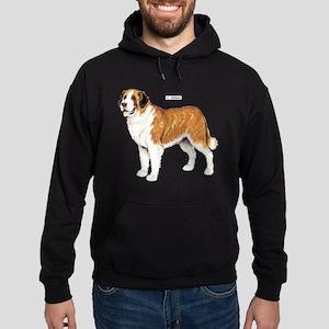 St. Bernard Dog Hoodie (dark)