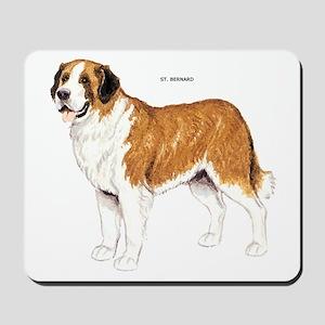 St. Bernard Dog Mousepad