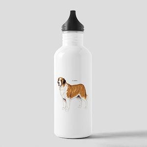 St. Bernard Dog Stainless Water Bottle 1.0L