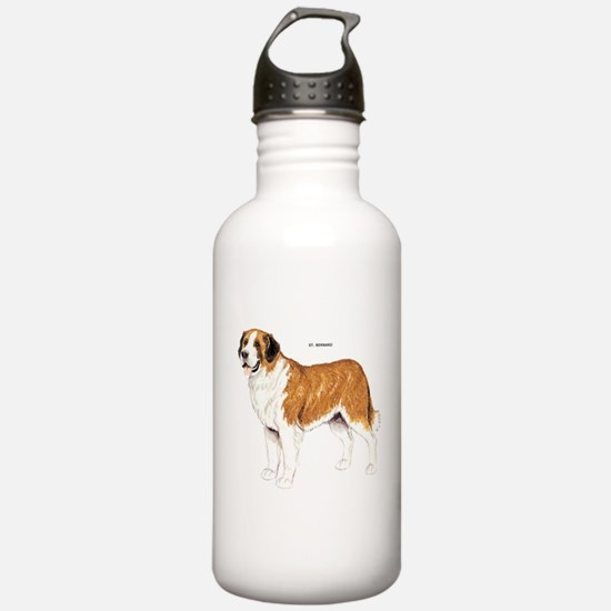 St. Bernard Dog Water Bottle