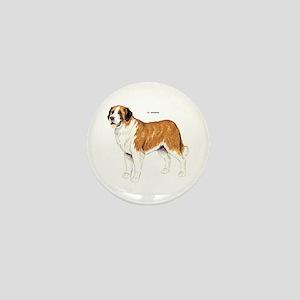 St. Bernard Dog Mini Button