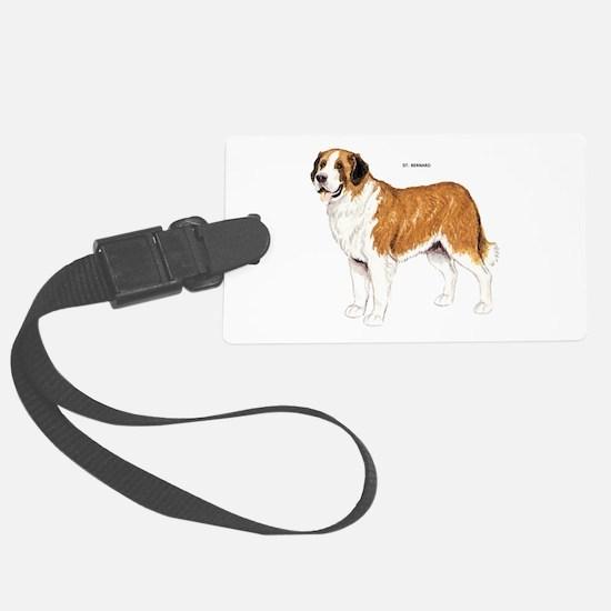 St. Bernard Dog Luggage Tag