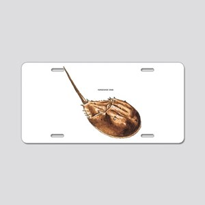 Horseshoe Crab Aluminum License Plate