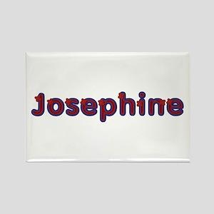 Josephine Red Caps Rectangle Magnet