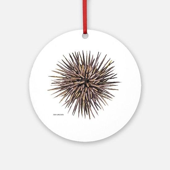 Sea Urchin Ornament (Round)
