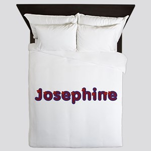 Josephine Red Caps Queen Duvet