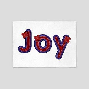 Joy Red Caps 5'x7' Area Rug
