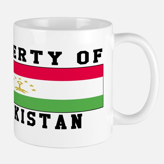 Property Of Tajikistan Mug