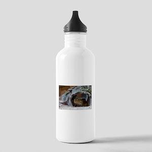 leopard geckos house Water Bottle