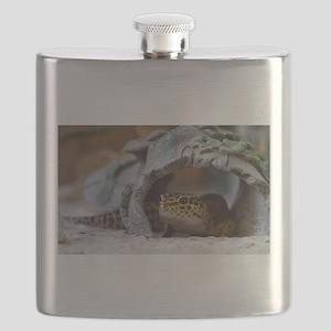 leopard geckos house Flask