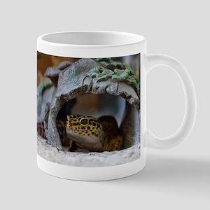 leopard geckos house Mug