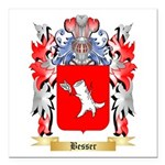 Besser Square Car Magnet 3