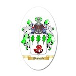 Besnard 20x12 Oval Wall Decal