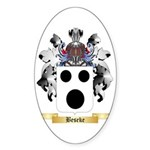 Beseke Sticker (Oval 50 pk)