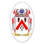 Bertuccioli Sticker (Oval)