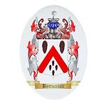 Bertuccioli Ornament (Oval)