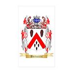Bertuccini Sticker (Rectangle 50 pk)