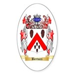 Bertucci Sticker (Oval 10 pk)