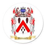 Bertuccelli Round Car Magnet