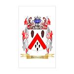 Bertuccelli Sticker (Rectangle)