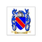 Bertrandon Square Sticker 3