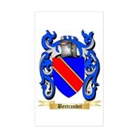 Bertrandet Sticker (Rectangle)